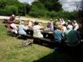 Enjoying the picnic