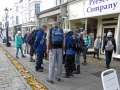 Autumn weekend walking in Wells