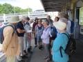 Meeting at Orpington Station, 13 walkers