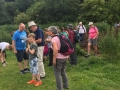 Another group of walkers confront the obstacle in the path