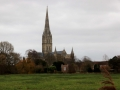 05/12/15 Salisbury, Cathedral, famous view as painted  by Turner and Constable