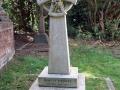 19/8/18. Charles Kingsley's grave at Eversley. Bramshill walk.