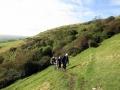 Oct 2014  Walking weekend in Swanage