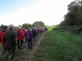 The walk in  Tilehurst