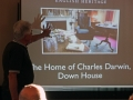 Peter introducing us to Down House